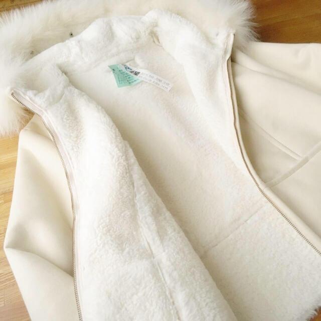 snidel(スナイデル)のフェイクムートン コート レディースのジャケット/アウター(ムートンコート)の商品写真