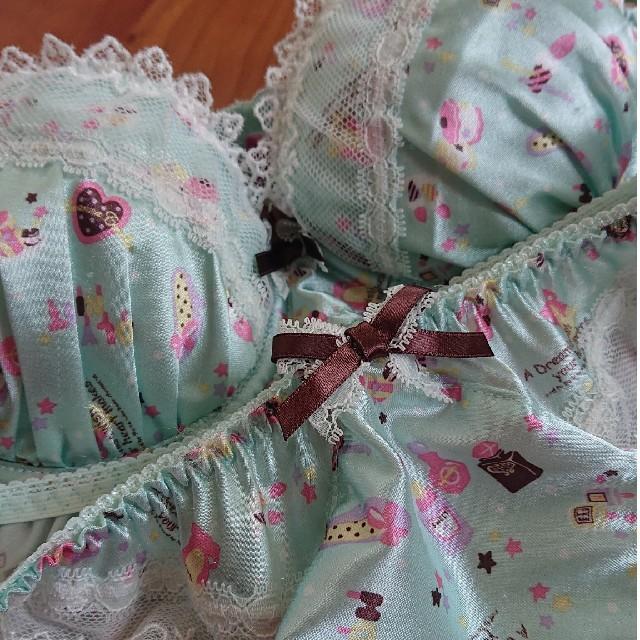 tutuanna(チュチュアンナ)のtutuanna レディースの下着/アンダーウェア(ブラ&ショーツセット)の商品写真