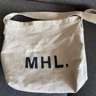 マーガレットハウエル(MARGARET HOWELL)のMHL 肩がけバッグ コットンリネン(ショルダーバッグ)