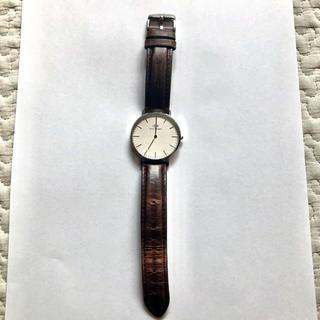 ダニエルウェリントン(Daniel Wellington)のダニウェルウェリントン 腕時計(レザーベルト)