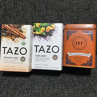 ※専用※TAZO tea★タゾ ティー★チャイ・アールグレイなど★紅茶★スタバ(茶)