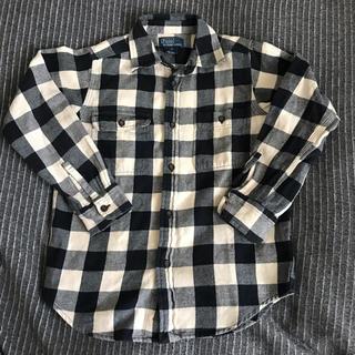 POLO RALPH LAUREN - ラルフローレン 長袖シャツ チェックシャツ 6歳 130 男の子