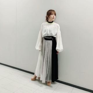 アウラアイラ(AULA AILA)のAULAAILA  プリーツラップアラウンドスカート(ロングスカート)