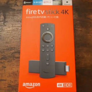 新品 未開封 Amazon fire stick TV 4k
