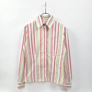 NARACAMICIE - ナラカミーチェ コットン100% マルチストライプシャツ