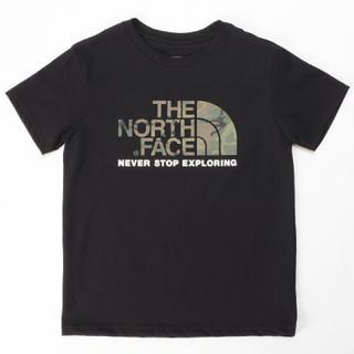 ザノースフェイス(THE NORTH FACE)のTHE NORTH FACE Tシャツ キッズ  ショートスリーブカモロゴティー(Tシャツ/カットソー)