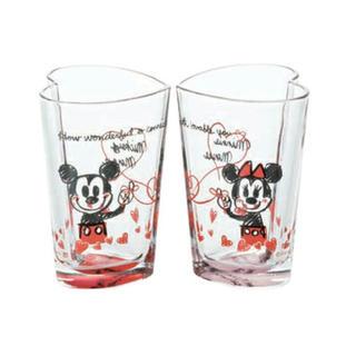 Disney - ディズニーミッキー&ミニー mickey&minnie ペアグラス