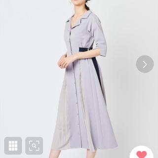 REDYAZEL - 配色ダブルバックルシャツワンピース