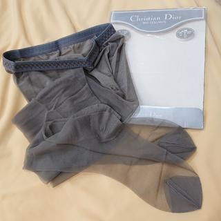 Christian Dior - ★訳あり★ Christian Dior パンティストッキング   M   グリ