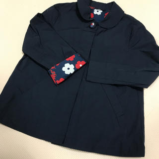 familiar - ファミリア コート ジャケット 120 花柄