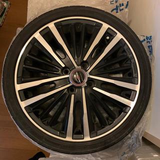 shallen ホイールDW874 165X5J+タイヤ 4本セット(タイヤ・ホイールセット)
