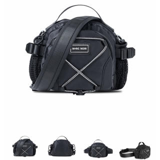 マルシェノア  最新作 2way  ブラック  ショルダー バッグ