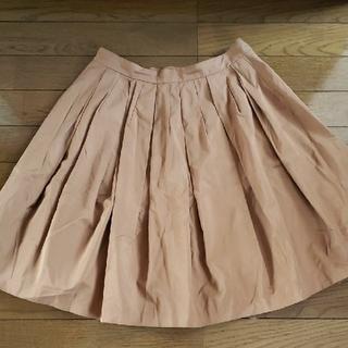 シンゾーン(Shinzone)のプリーツスカート フレアスカート(ひざ丈スカート)