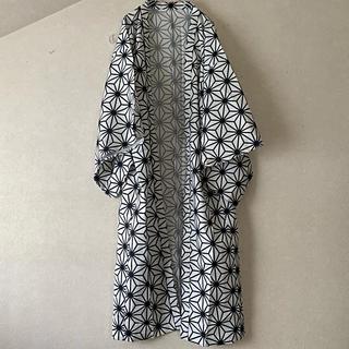 イッセイミヤケ(ISSEY MIYAKE)の【old】幾何学模様 羽織り(カーディガン)