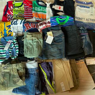 プーマ(PUMA)の新品多数 男の子 洋服26点セット 福袋 プーマ ナイキ ユニクロ(その他)