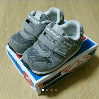 New Balance - ニューバランス 子ども キッズ 靴 14㎝ グレー