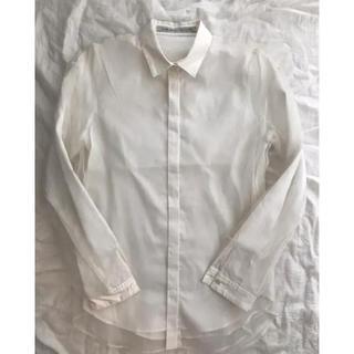 JOHN LAWRENCE SULLIVAN - ジョンローレンスサリバン シースルードッキングシャツ