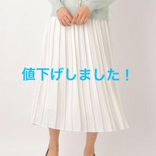 LEPSIM - 未使用!レプシィム☆今季シフォンプリーツスカート M  送料無料!