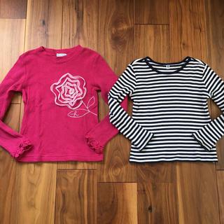 ハッカキッズ(hakka kids)のミホミホ様専用 hakka kids・UNIQLO 長袖130サイズ(Tシャツ/カットソー)
