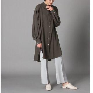 LOWRYS FARM - 20SS LOWRYS FARM バンドカラールーズシャツ 定価4,950円
