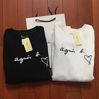 agnes b. - agnes b.ハートS黒白2枚セット アニエス・ベー スウェット
