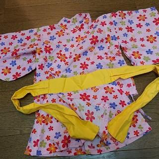 女の子 90cm 甚平風浴衣(甚平/浴衣)