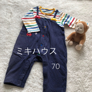 mikihouse - ミキハウス ロンパース  70cm