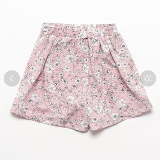 エムピーエス(MPS)のMPS  花柄ラップスカートパンツ(スカート)