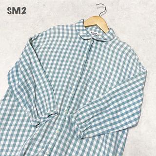 SM2 - 【SM2】チェックシャツワンピース サマンサモスモス