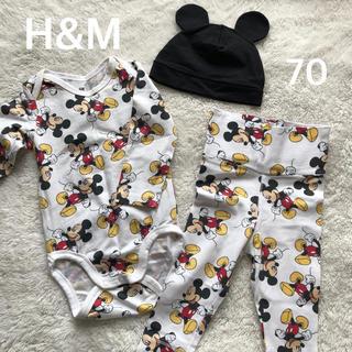 H&M - H&M  ミッキー  70cm