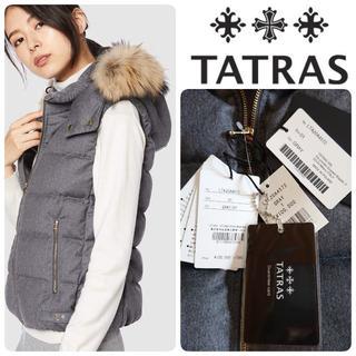 タトラス(TATRAS)の20AW国内正規カード付 新品 タトラス LUSERA ダウンベスト 定価11万(ダウンベスト)