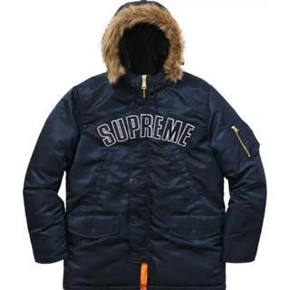 Supreme - supreme Arc Logo N-3B Navy 16AW