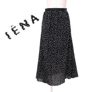 イエナ(IENA)の19ss IENA 二子玉川店限定ドットジョーゼットロングSK スカート (その他)