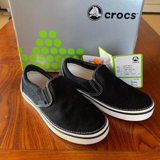 crocs - クロックス スニーカー フーバースリップオン23cm