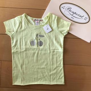 Bonpoint - 新品 ボンポワン   Tシャツ ライム