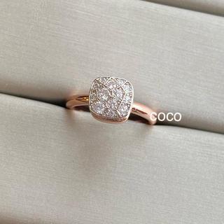 Drawer - ジルコニア  パヴェ ダイヤモンド リング