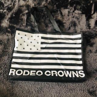 ロデオクラウンズ(RODEO CROWNS)のショップ袋チャック付き☆(ショップ袋)