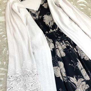 PROPORTION BODY DRESSING - タグ付き美品⭐️プロポーションボディドレッシング袖レース🌸ロングカーデ