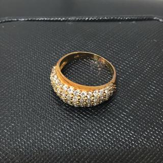 k18 ダイヤモンド パヴェリング 1.05カラット✨