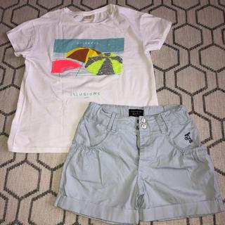 pom ponette - 140 Tシャツ&ショートパンツ