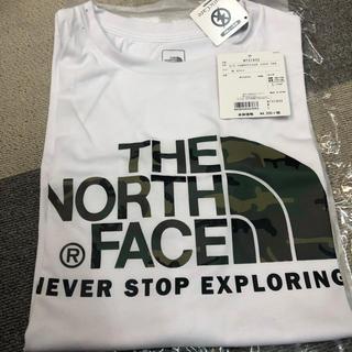 THE NORTH FACE - ノースフェイス Tシャツ カモ柄 Lサイズ