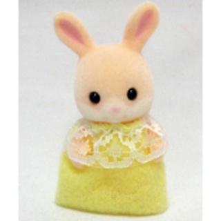 エポック(EPOCH)のシルバニアファミリー ピンクわたうさぎ赤ちゃん(ぬいぐるみ/人形)