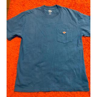 DANTON - DANTON ダントン  Tシャツ くすみブルー サイズ42