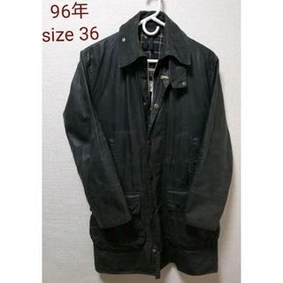 バーブァー(Barbour)の96年 Barbour BORDER size36 ヴィンテージ  ワックス (ブルゾン)