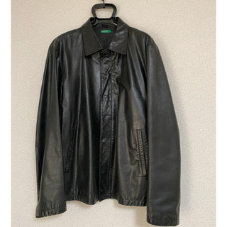 JOHN LAWRENCE SULLIVAN - vintage レザージャケット シャツジャケット