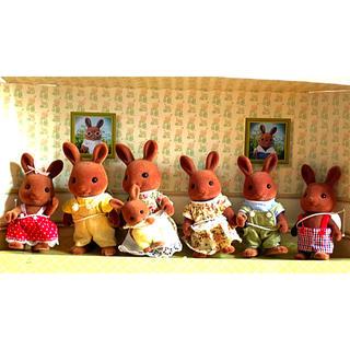 エポック(EPOCH)のシルバニアファミリー 人形セット(ぬいぐるみ/人形)
