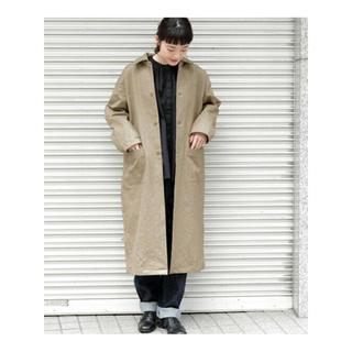 ドアーズ(DOORS / URBAN RESEARCH)のかぐれ kagure ウンサイステンカラーコート(ロングコート)