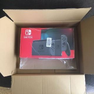 Nintendo Switch - 新品 ニンテンドー スイッチ 新型 グレー 本体 Nintendo Switch