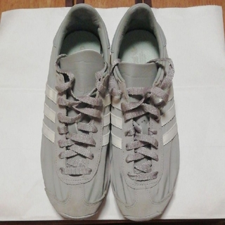 adidas - adidas【美品】24cm/グレー/レディース