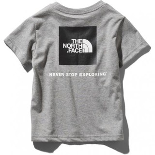 THE NORTH FACE - THE NORTH FACEスクエアロゴTシャツ 110